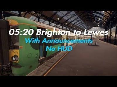 05:20 Brighton - Lewes (Announcements)|East Coastway|TSW