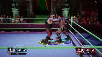 WWE 2K Battlegrounds The Fiend vs Randy Orton