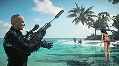 HITMAN 2 - Sniper Long Shots - 1 in Maldives | Silent Assassin Suit Only