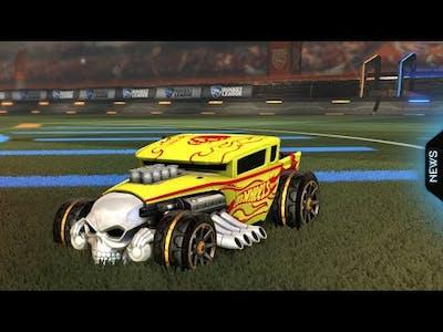 Personal Best Record In Rocket League Hot Wheels Season | Rocket League | GameReBorn