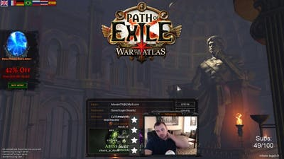 Twitch Daily 2017-12-17. Top 20 Path of Exile twitch clips.