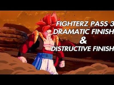 Dragon Ball Fighterz - FIGHTERZ PASS 3 Dramatic Finish & Distructive Finish