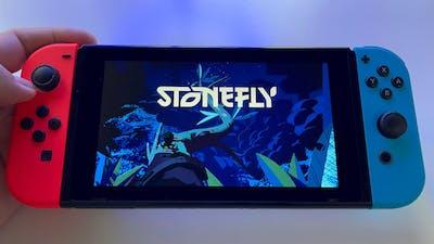Stonefly | Nintendo Switch V2 handheld gameplay