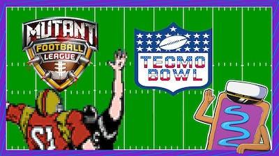Battle of the Sludge Bay | Mutant Football League & Tecmo Bowl