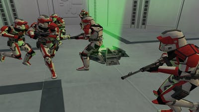 Star Wars  Battlefront 2004 old republic mod early test gameplay