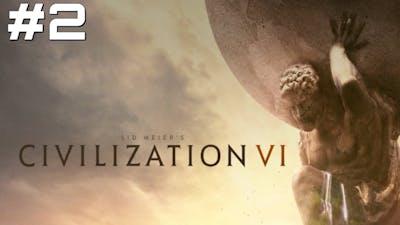Let's Play Civilization 6 - Part 2