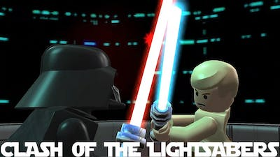 The Clash Of The Lightsabers (Vader VS Luke Mod) - LEGO Star Wars The Complete Saga