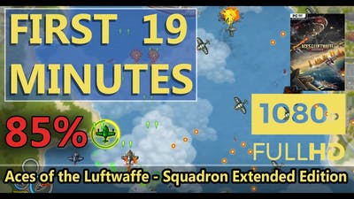 FIRST LOOK   Aces of the Luftwaffe - Squadron Extended Edition   HD GAMEPLAY