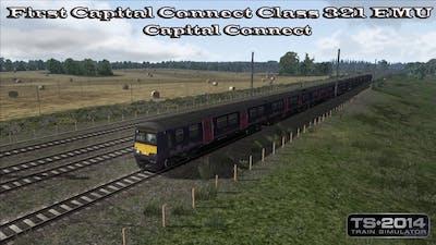 Train Simulator 2014 - Career Mode - First Capital Connect Class 321 EMU - Capital Connect Part 4