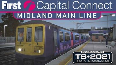 Midland Main Line - FULL RUN of the ROUTE Time-Lapse - Train Simulator