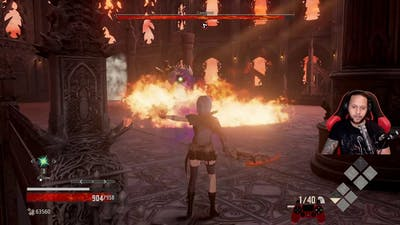 Blade Bearer and Cannoneer Level 1 Solo Kill | Code Vein