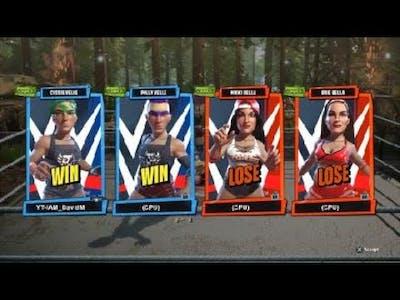 WWE 2K Battlegrounds: 2 on 2 Tornado Match