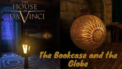 The House of da vinci-  Bookcase and the globe