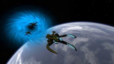 Babylon 5 Ships Showcase [Mellow Flybys]