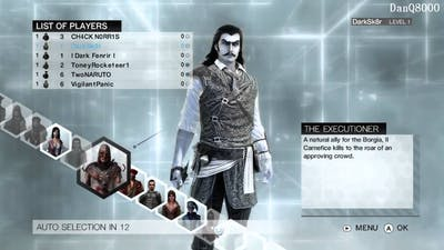 Assassin's Creed: Brotherhood Multiplayer HD Gameplay Part 1 | DanQ8000