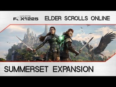 ESO: Summerset Expansion Details! New Zone, Skill Line, Trial and more!