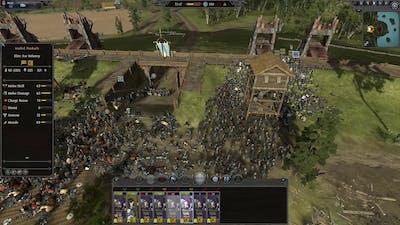 Thrones Of Britannia: A Total War Saga - My first siege