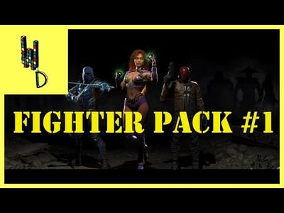 Sea.Fx REACTS to Injustice 2 - Fighter Pack 1 Revealed!   The Wave Dojo