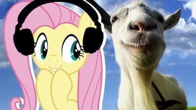Fluttershy plays Goat Simulator 🍉 | Be Assertive!