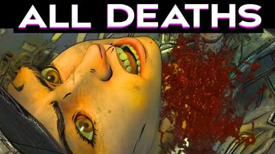 ALL GAME OVER SCENES - The Walking Dead Season 4 Episode 3 - All Deaths Outcomes