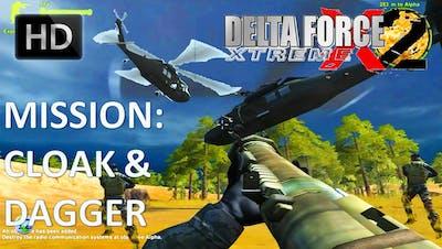 Delta Force Xtreme 2 Walkthrough - Mission 3: Cloak And Dagger HD