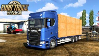 SCANIA NG TANDEM CARGOES 1.41 TRUCK | Euro Truck Simulator 2