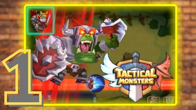 Tactical Monsters Rumble Arena -Tactics & Strategy Stage 1 - Level  1