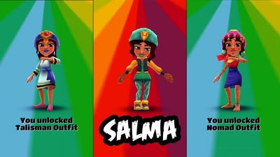 Subway Surfers World Tour Marrakesh New Character Salma & NEW Board