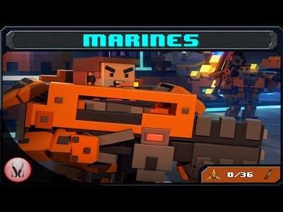 8-Bit Invaders Marines Campaign - Triple Threat