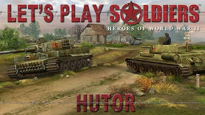 Let's Play Soldiers: Heroes of World War 2 - Mission 25: Hutor (HARD DIFFICULTY)