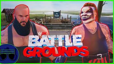 "Braun Strowman vs The Fiend ""Swamp Fight"" - WWE 2K Battlegrounds"