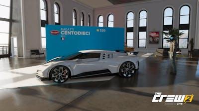 "The Crew 2 ""Motorflix"" | Bugatti Centodieci | Tuning, Soundcheck & Racetest"