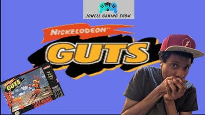Nickelodeon GUTS (SNES) - (Jowell Gaming) - The Shitty Games Series Continues!
