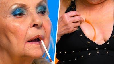 Grandma's best makeup tutorials