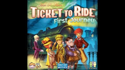 Game Spotlight: Ticket to Ride First Journey