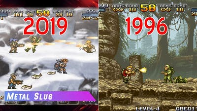 Evolution Of Metal Slug Games (2019-1996)