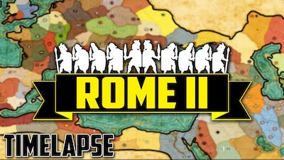 Rome 2 Total War - TimeLapse (Ai Only) 300 Turns