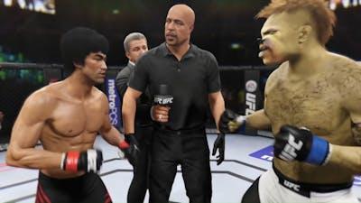 Bruce Lee vs. Doctor Dog (EA Sports UFC 2)