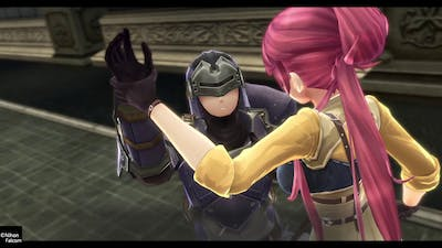 The Legend of Heroes: Trails of Cold Steel III - Sara/LeGuin/N.Jaegers + Railway Cannons Secured