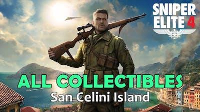 Sniper Elite 4 - All Collectibles - Mission 1 | San Celini Island [1080p60]