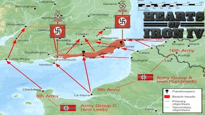 How to do Operation Sea Lion in HOI4 Waking the Tiger