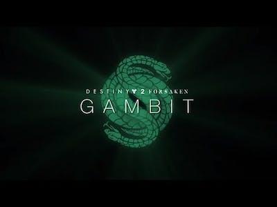 Destiny 2 Forsaken Gambit Game Play