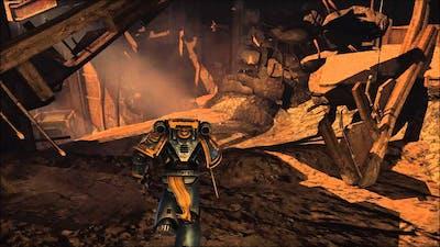 Warhammer 40k Space Marine: Part 1- One Man Army