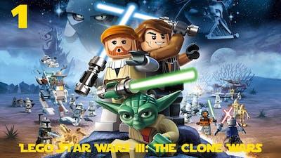 Lego Star Wars III: The Clone Wars Playthrough #1