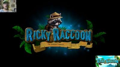 Ricky Raccoon: The Amazon Treasure - brief game play
