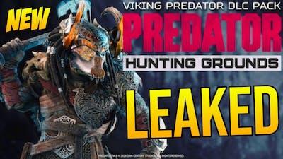 "VIKING PREDATOR! LEAKED DLC!! Predator Hunting Grounds Halloween Update? ""BATTLE AXE WEAPON?!"""