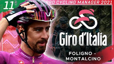 GRAVEL MADNESS. 2021 GIRO D'ITALIA Stage 11 | Pro Cycling Manager 2020