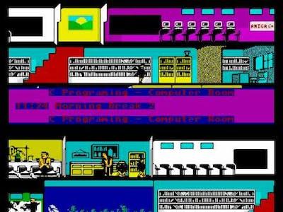 Skoolz Out ! - UnFinished Amiga Game Demo