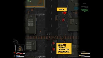 Neon Hardcorps gameplay