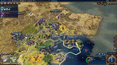 Civ 6 - end game units vs city
